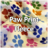 Paw Print Fleece