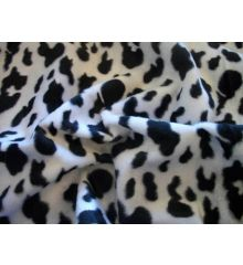 Dalmation Faux Fur Velboa