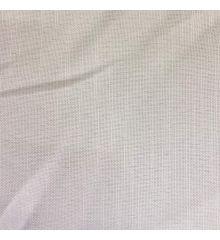 White Linen Look Fire Retardant Tablecloth Fabric