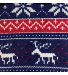 Printed Anti-Pil Fleece - Nordic Christmas