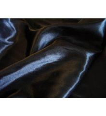 Plain Silky Satin-Black