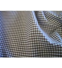 1/8 Inch Gingham Polycotton-Brown
