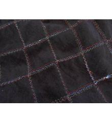 Metallic Diamond Stitch Cord-Brown