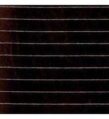 Velvet Pinstripe - Brown