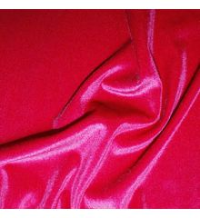 Luxury Stretch Velour-Cerise