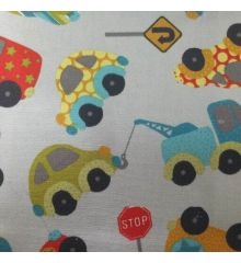 Cars Cotton Canvas