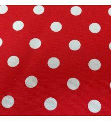 Spot Cotton Canvas-Red
