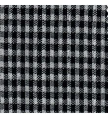 Ponte Roma Jersey Knit-Black Gingham Check
