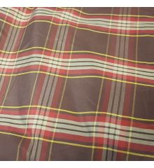 Checkered Check Lining Taffeta Fabric