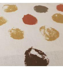 Clarke & Clarke Paint Palette PVC Oilcloth - Brown
