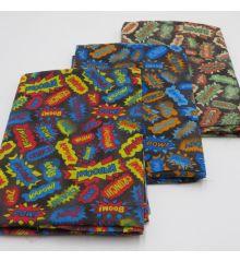 Comics Children's Polycotton Fabric