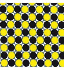 Check Spot 100% Cotton Poplin (0403)-Yellow