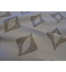 Cream Dewdrop Curtain Fabric