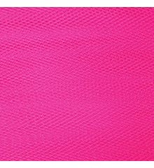 Nylon Dress Net-Cerise Pink