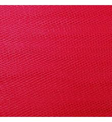 Nylon Dress Net-Cherry