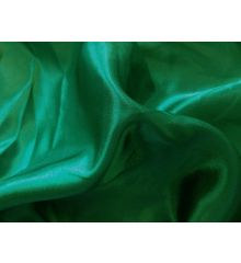 Plain Silky Satin-Emerald Green