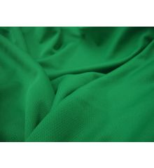 Mock Eyelet Sports Fabric 250 GSM-Emerald Green