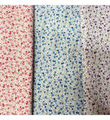 Ditsy Floral 100% Cotton Poplin (602)