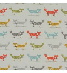 Fryetts Foxes 100% Cotton Fabric