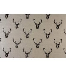 Fryetts Stags 100% Cotton Fabric
