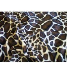 Giraffe Faux Fur Velboa
