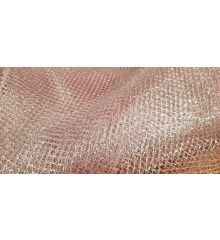 Glitter Mesh Fabric Material for Costume Craft Art Bright Colours-Baby Pink