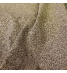 Brown Tweed With Gold Lurex Fabric