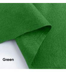 Polyester Crafting Felt - 15m Roll-Green