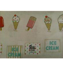 Fryetts Ice Cream PVC Coated Tablecloth Fabric