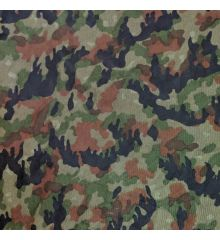 Green Camouflage Mesh