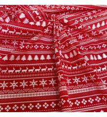 Christmas Polycotton Fabric - Christmas Jumper