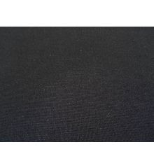 Black Polyester ITY Fabric