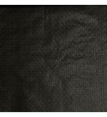 Lightweight PE Tarpaulin Groundsheet 100gsm-Black