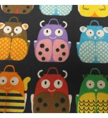 Animal Backpack Linen Cotton (120)