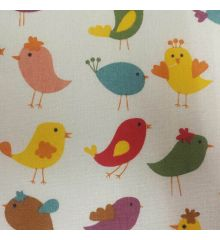 Birds Linen Cotton (115)