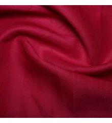 100% Linen Fabric-Cerise Pink