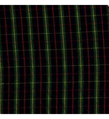 Mini Clan Mogh Tartan Check Polyviscose Fabric
