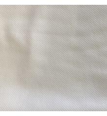 Mock Eyelet Sports Fabric 250 GSM-White