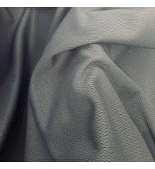 Mock Eyelet Sports Fabric 250 GSM-Grey