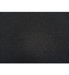 Moss Crepe Fabric-Black