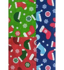 christmas hat & socks polycotton