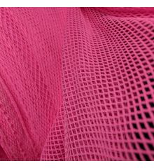 Stretch Fashion Mesh-Hot Pink