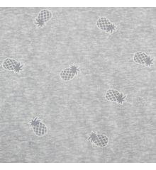 Printed Jersey Sweatshirt Pineapples