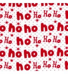 Ho Ho Ho Christmas Polycotton (823)
