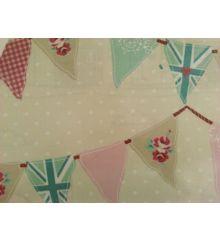 Fryetts Bunting PVC Coated Tablecloth Fabric