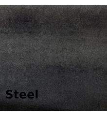 Hallewell England Plush Velvet Furnishing-Steel