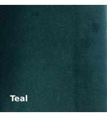 Hallewell England Plush Velvet Furnishing-Teal