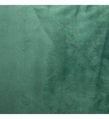 Luxury Plush Velvet Fire Retardant Furnishing -Jade Green