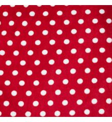Polka Dot Antipil Polar Fleece