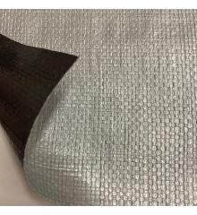 Polyethylene Waterproof & UV Resistant Tarpaulin 180gsm-Silver
